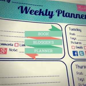Book BLOGGER'S PLANNER